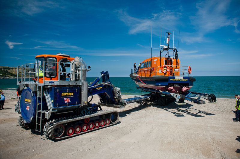 SC Group launch trials at RNLI Dorset