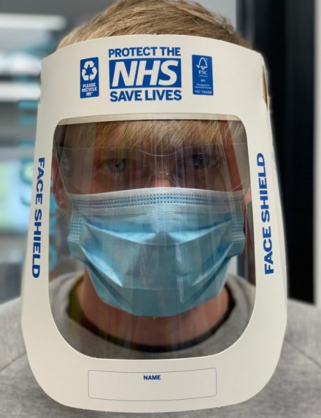 PPE produced by University of Plymouth Partnership